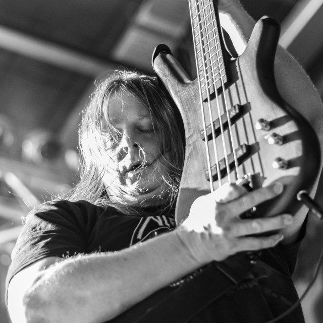 """""""AT THE GATES at Live Music Club (MI) 13-12-2019"""" stock image"""