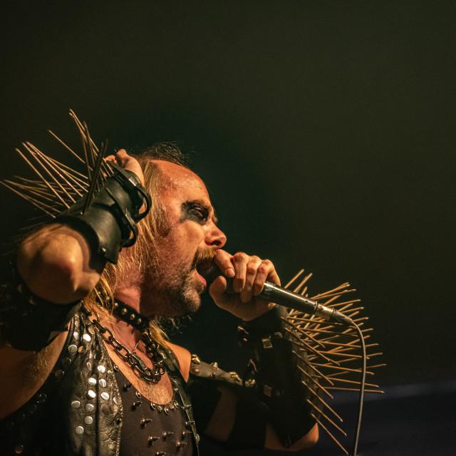"""Nifelheim at Live Music Club (MI) 13-12-2019"" stock image"