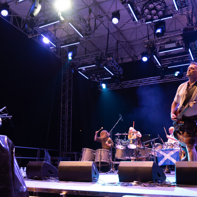 """Saor Patrol at Bum Bum Festival (BG) 22-08-2019"" stock image"