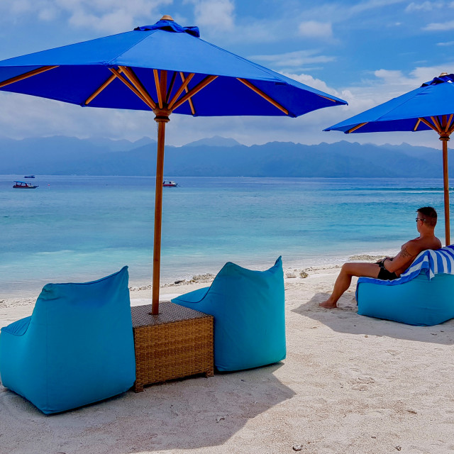 """""""One day in paradise"""" stock image"""