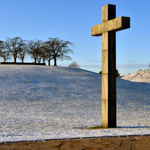 """Cross on the cemetery"" stock image"