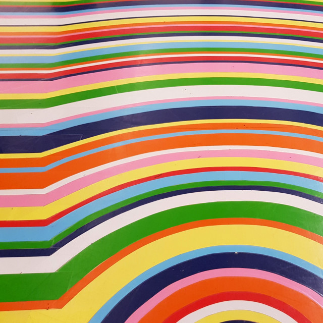 """""""Groovy floor at the Tate Gallery, Liverpool"""" stock image"""