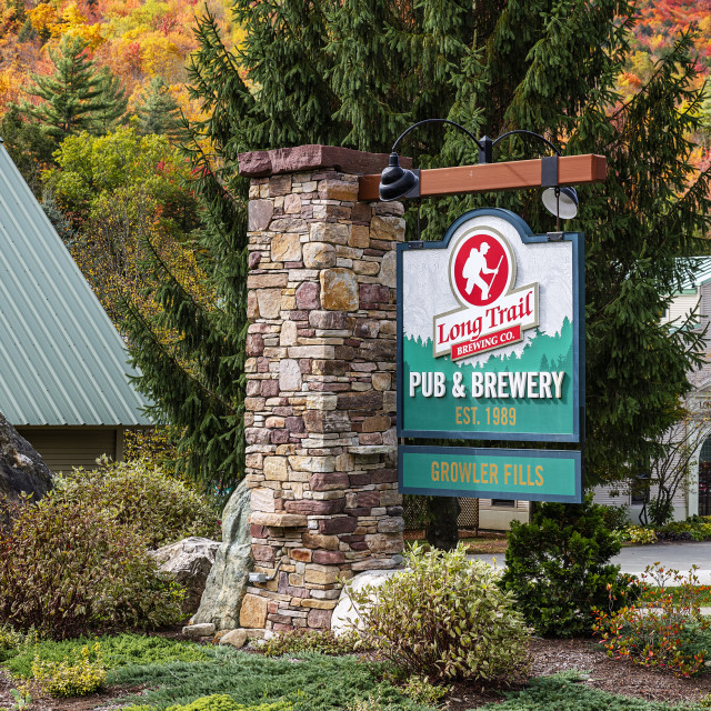 """""""Long Trail Brewing Company headquarters"""" stock image"""