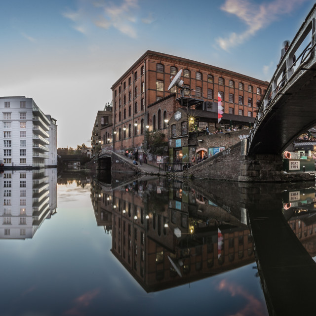 """Camden Lock in London"" stock image"