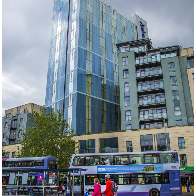 """Bristol City Centre"" stock image"