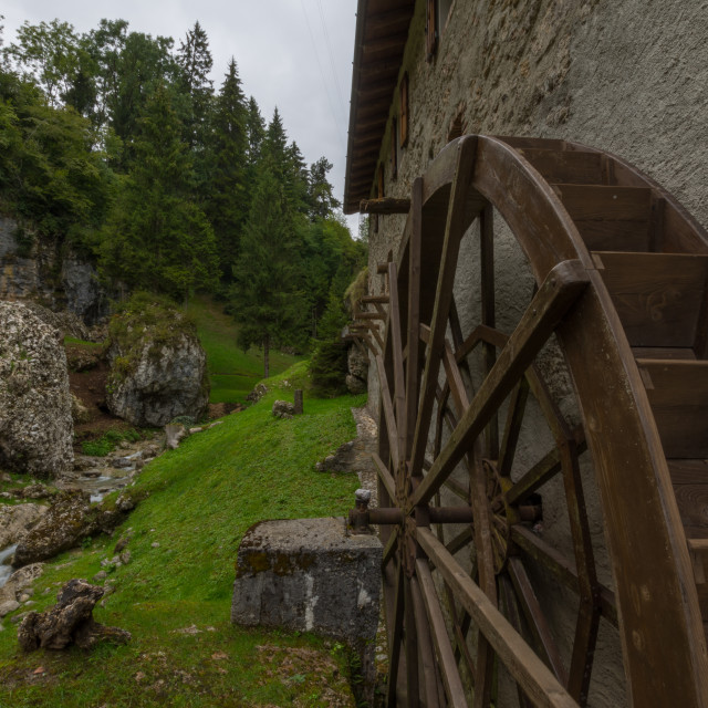 """""""Old Mill"""" stock image"""