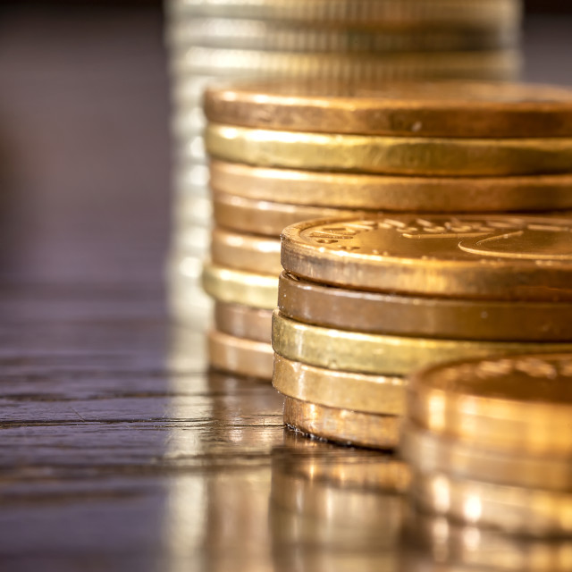 """""""coins concept"""" stock image"""