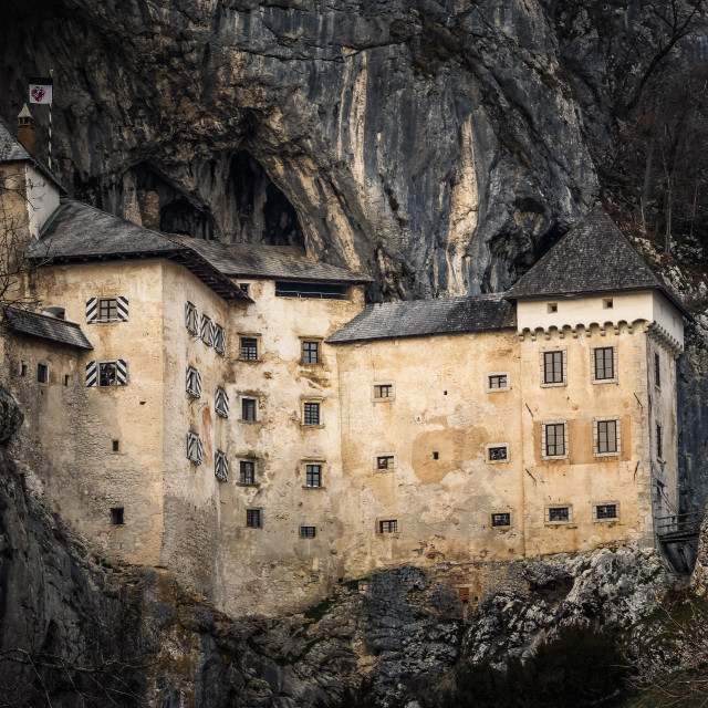 """Castel Lueghi"" stock image"