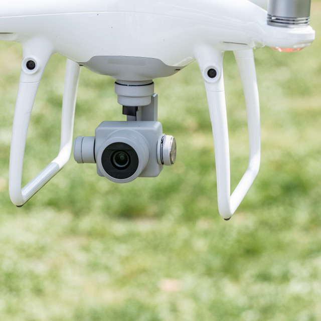 """""""Drone detail"""" stock image"""