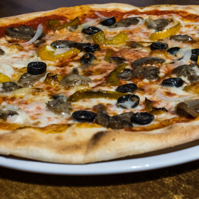 """Pizza"" stock image"