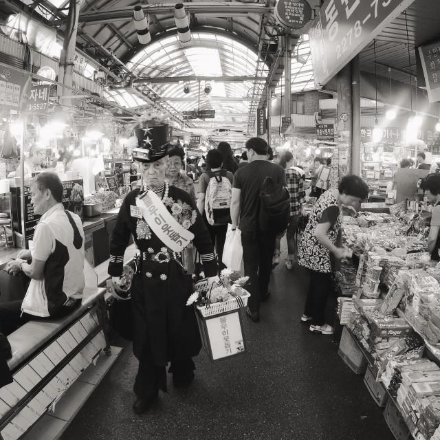 """""""Gwangjang Market, Korea"""" stock image"""