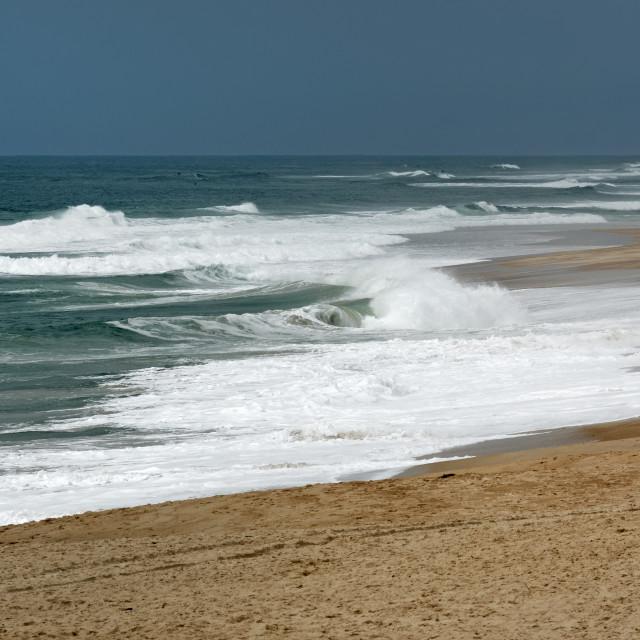 """Hossegor beach"" stock image"