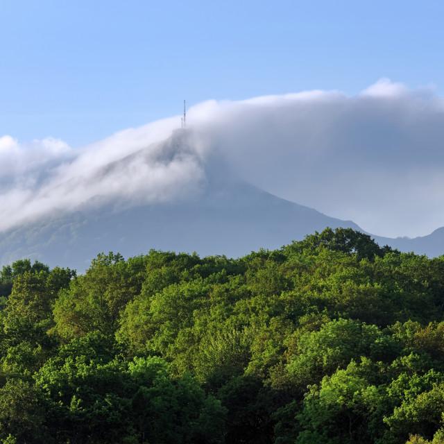 """""""Rhune mountain"""" stock image"""