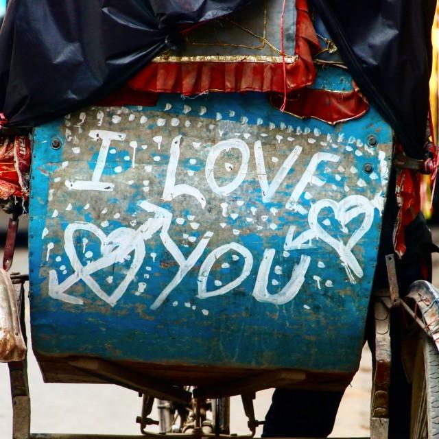"""True Love"" stock image"