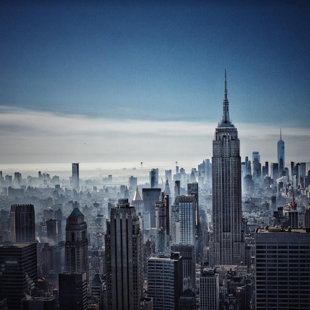 """""""Rockefeller Center"""" stock image"""