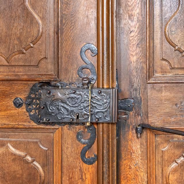 """""""antique lock"""" stock image"""