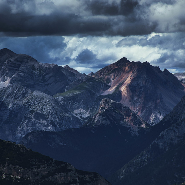 """""""Midday mountain"""" stock image"""