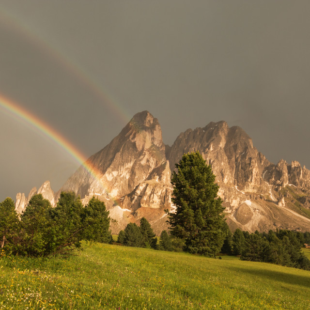 """""""After a thunderstorm"""" stock image"""