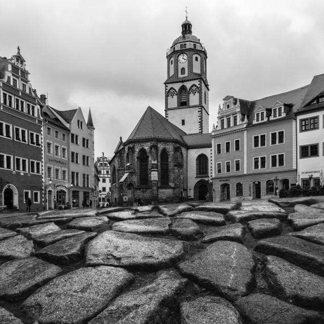 """Meissen - town hall"" stock image"