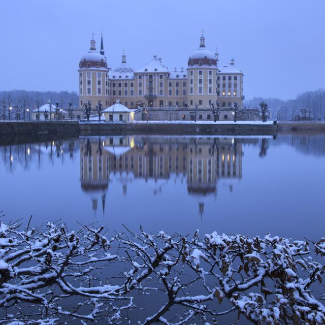 """""""Moritzburg - castle III"""" stock image"""