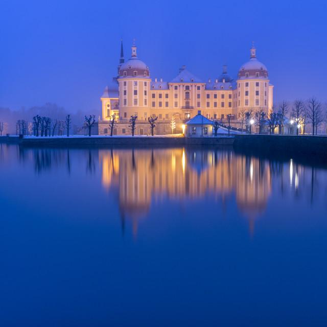 """Moritzburg - castle I"" stock image"