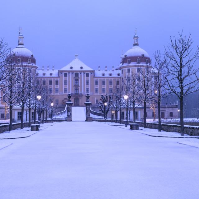 """""""Moritzburg - castle II"""" stock image"""
