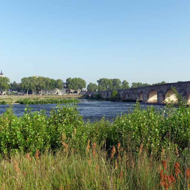 """""""Beaugency city"""" stock image"""