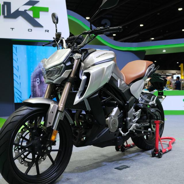 """Senke motorcycle SK250"" stock image"