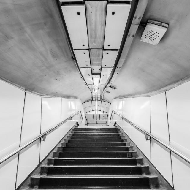 """""""Holborn Tube Station - London, UK"""" stock image"""