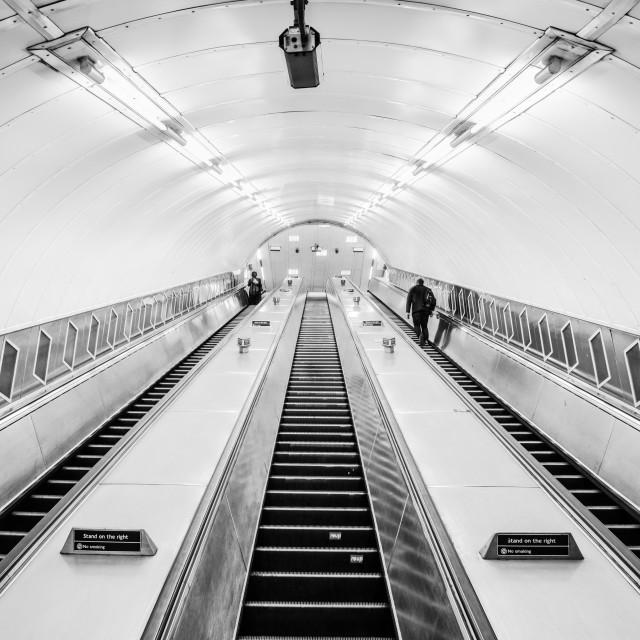 """""""Waterloo Tube Station - London, UK (II)"""" stock image"""