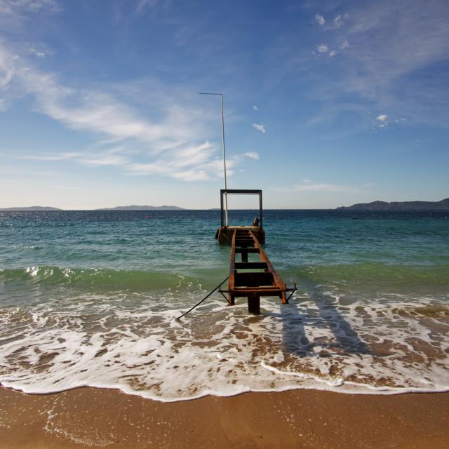 """Cavaliere beach"" stock image"