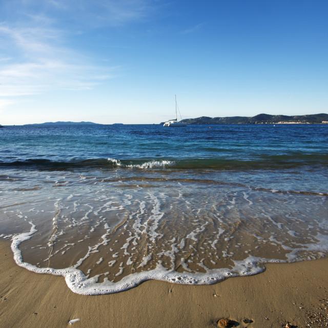 """Fossette beach"" stock image"