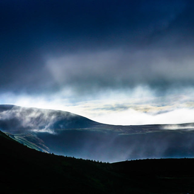 """Early Morning Light in Husavik Iceland"" stock image"