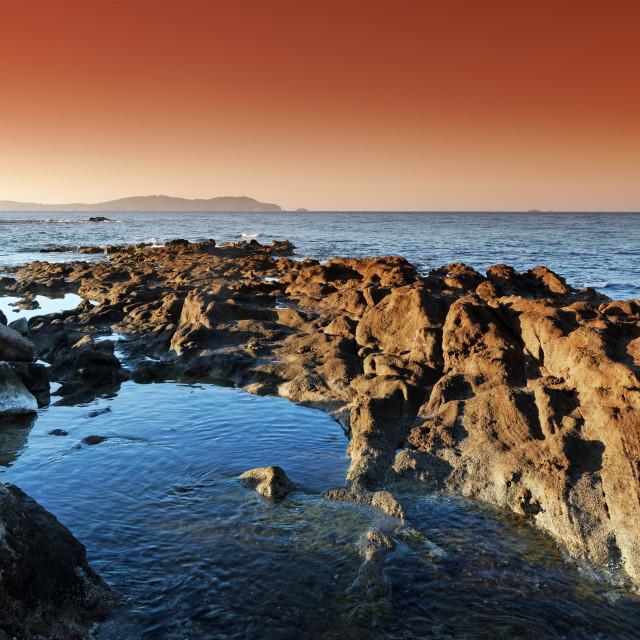 """Carqueiranne coast"" stock image"