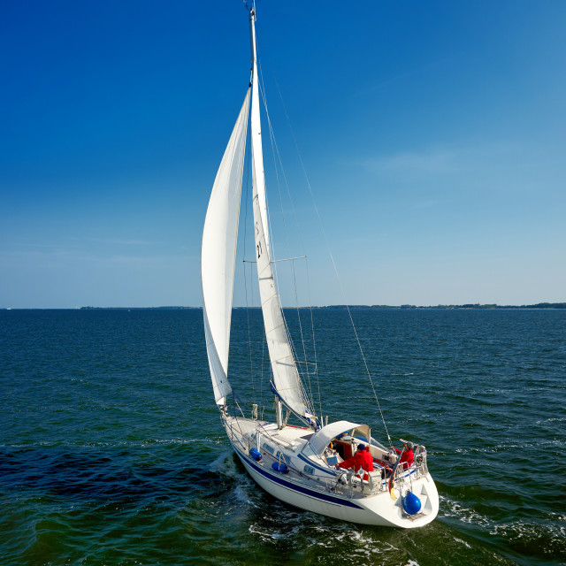 """sail away with boat"" stock image"