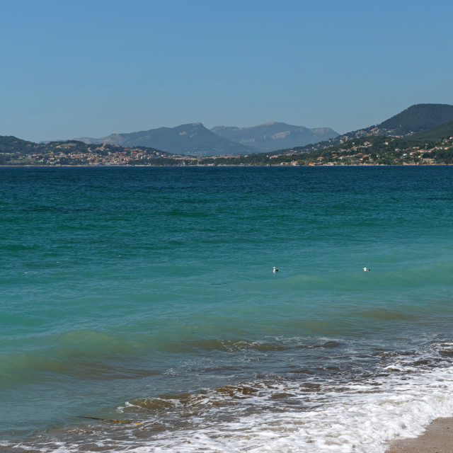 """""""Gulf of Giens"""" stock image"""