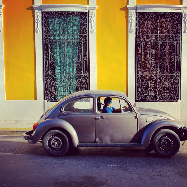 """""""Old beetle Mexico"""" stock image"""