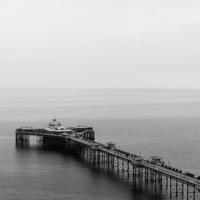 """Llandudno Pier"" stock image"