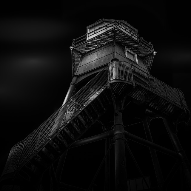 """Dovercourt High Lighthouse"" stock image"