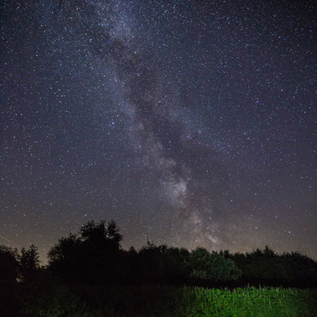 """""""Milkyway above"""" stock image"""