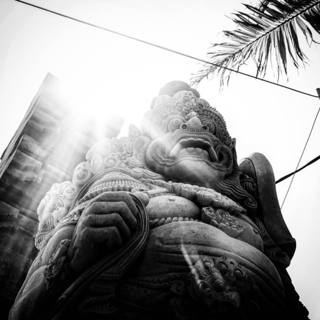 """Balinese Statue"" stock image"