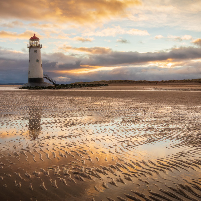 """Talacre Ripples"" stock image"
