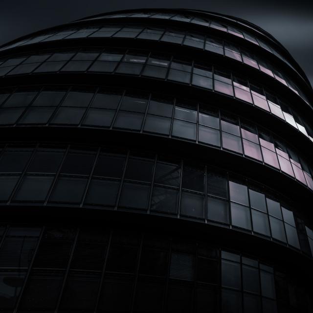 """City Hall London"" stock image"
