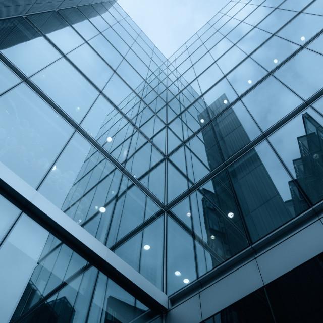 """Modern Architecture London"" stock image"