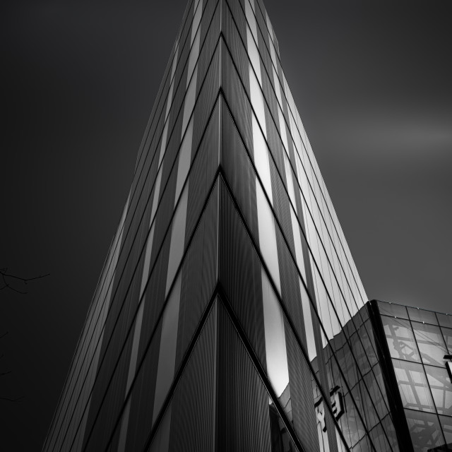 """Modern London Buildings"" stock image"
