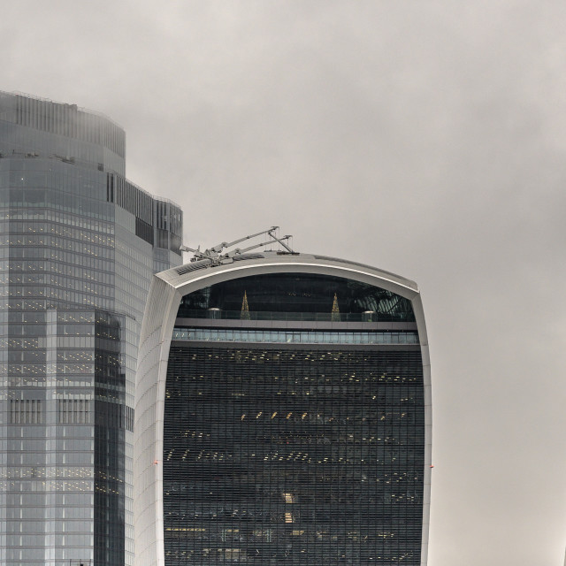 """""""Rooftop London"""" stock image"""