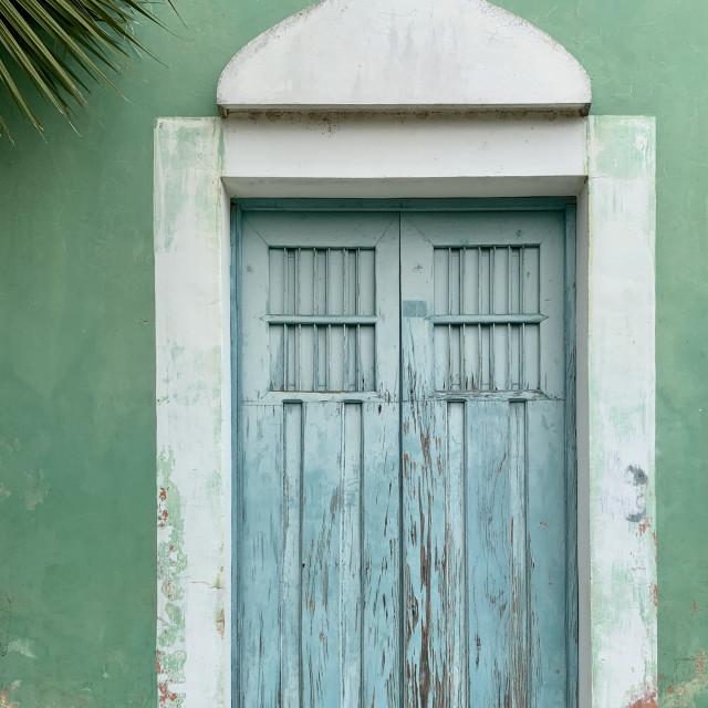 """""""Mexican door"""" stock image"""