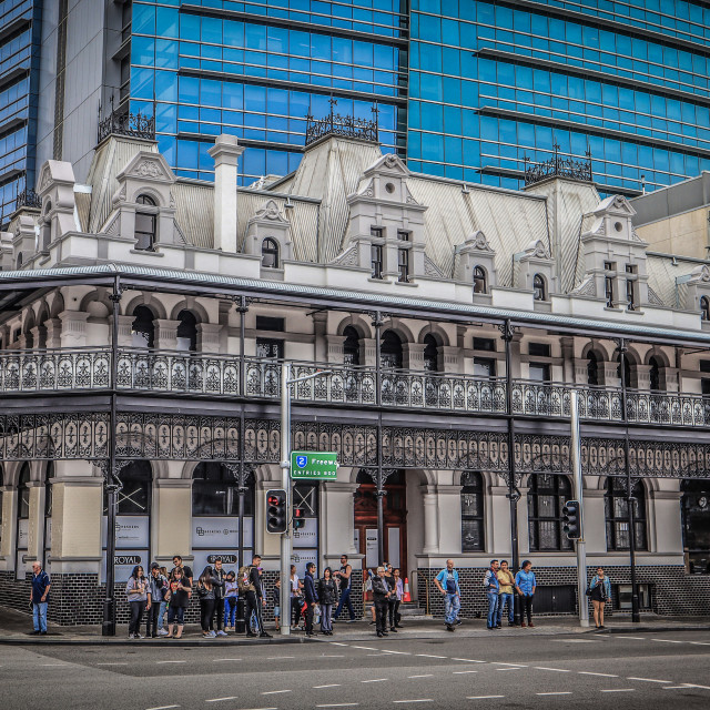 """""""vintage architecture in Perth"""" stock image"""