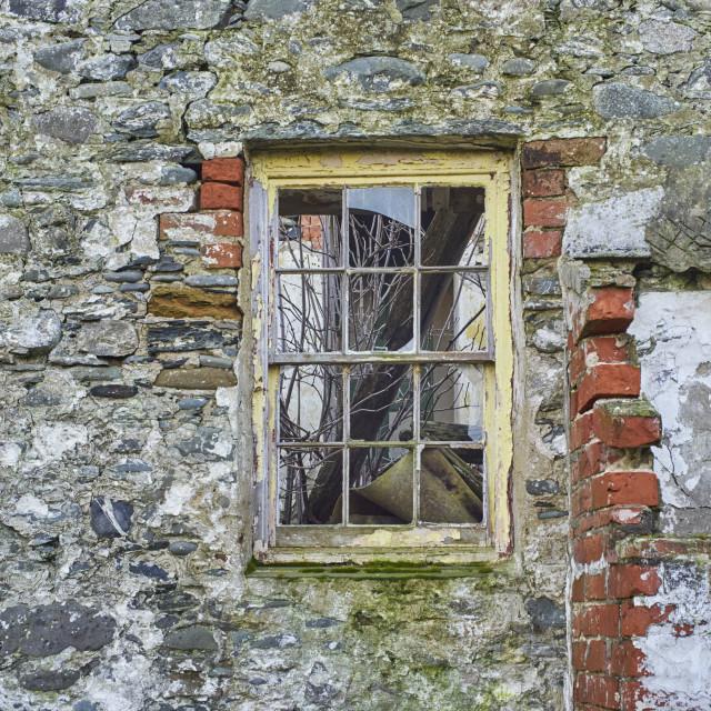 """""""Broken windows"""" stock image"""
