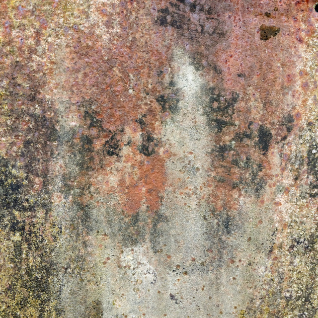 """old weathered oxidated metal pattern"" stock image"